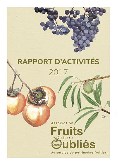 rapport activité Fruits Oubliés réseau 2017