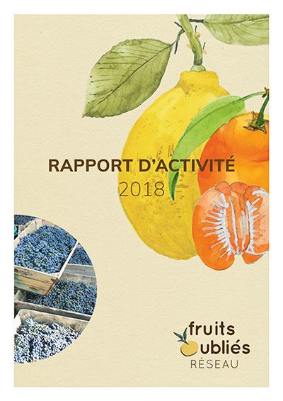 rapport activité Fruits Oubliés réseau 2018